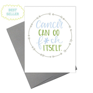 Colette Paperie - Cancer Can F*ck Itself Card