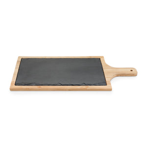 TRUE - Trim Slate And Bamboo Cheeseboard by True