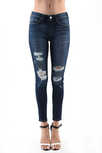 Limelight Distressed Skinnies