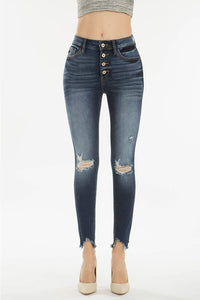 Tilley Frayed Ankle Jeans
