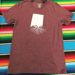 Men's Maroon New Mexico Roots Tee