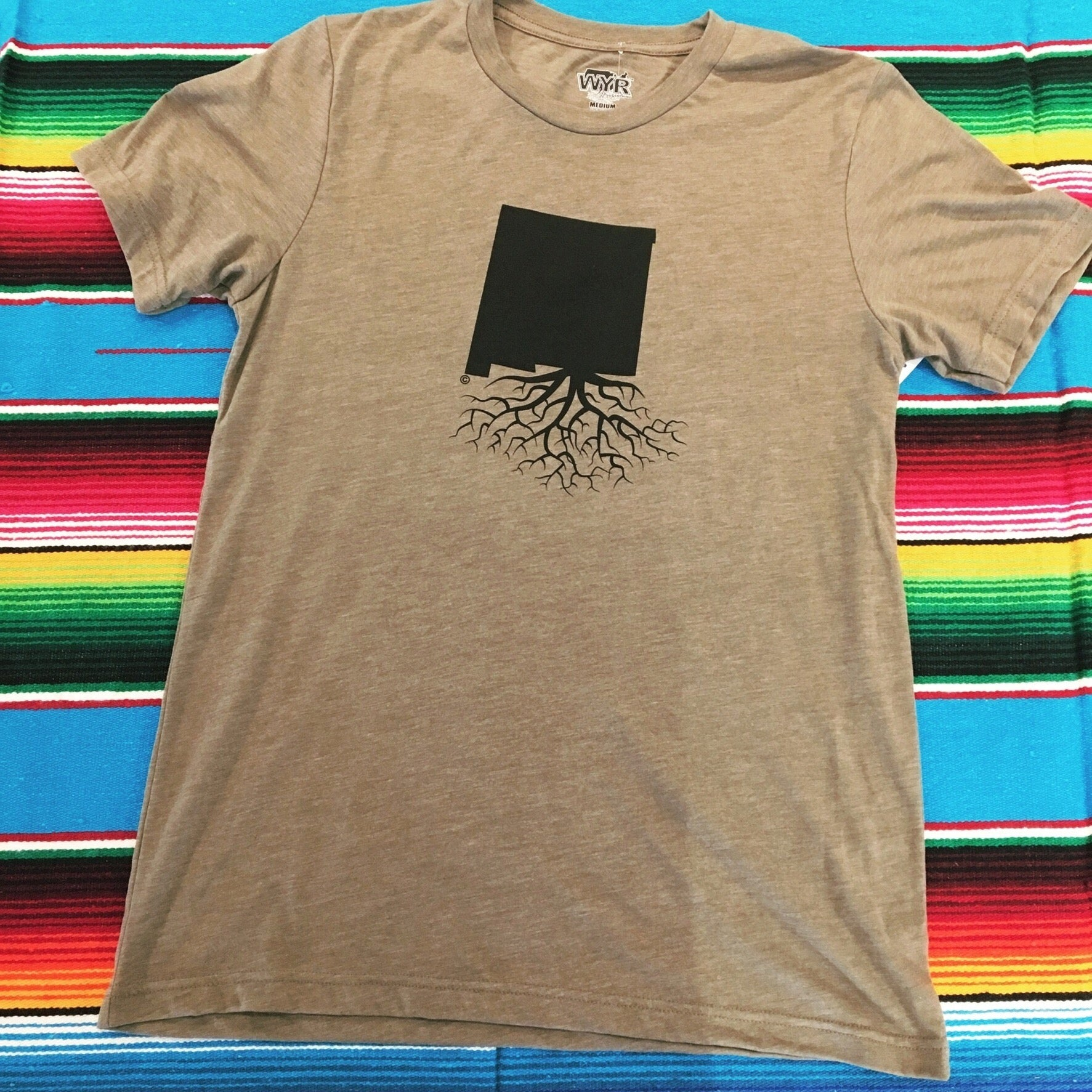 Men's Olive New Mexico Roots Tee