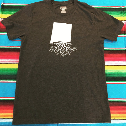 Men's Charcoal New Mexico Roots Tee