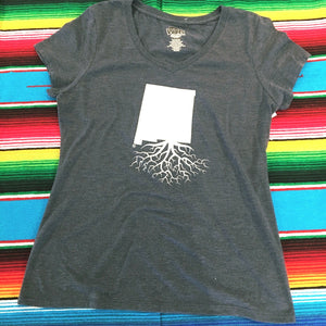 Women's Navy New Mexico Roots Tee