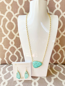 Large Sea Green Mother's Day Gift Set