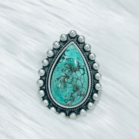 Hannah Turquoise Ring