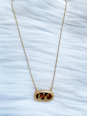 Leopard Layering Necklace