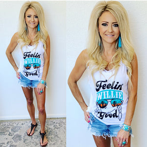 Feelin' Willie Good Tank in White