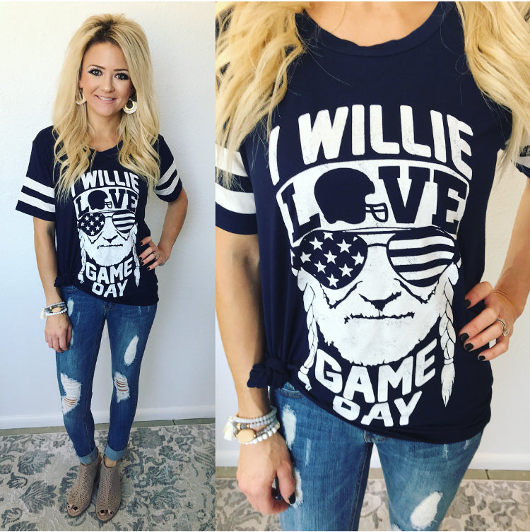 Willie Love Gameday Tee