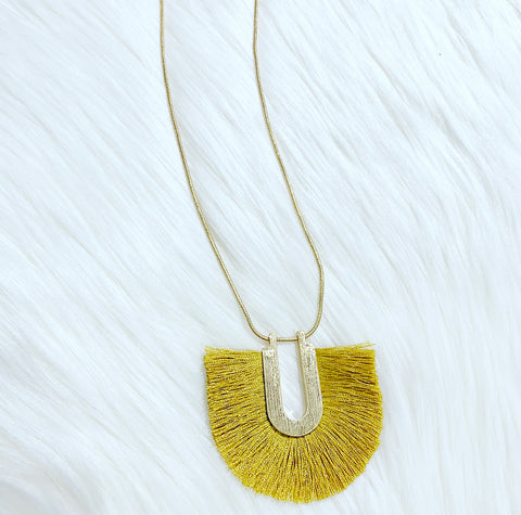 Tinsley Tassel Necklace