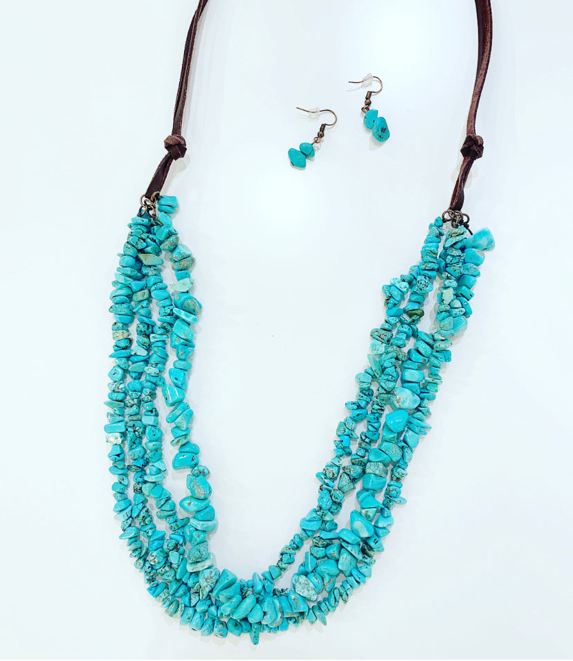 Tucson Sky Multi-Strand Necklace Set
