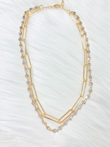 Charlize Chain Necklace
