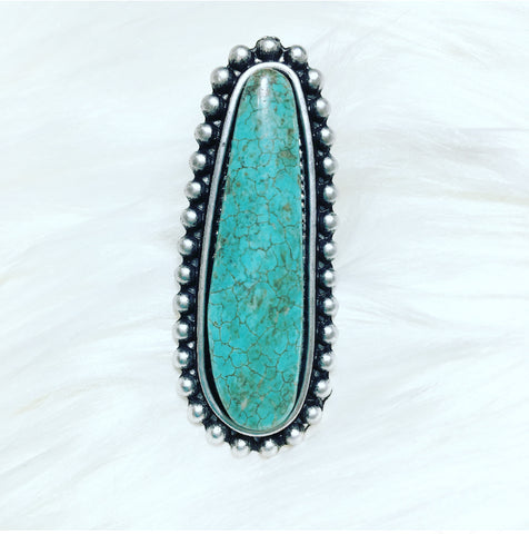 CeeCee Turquoise Ring
