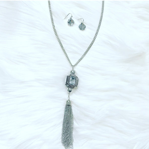 Sasha Silver Necklace