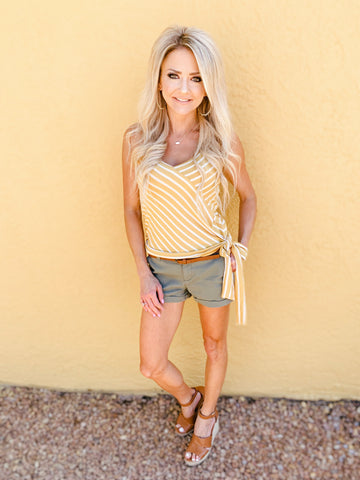 Sweetheart Tie Top