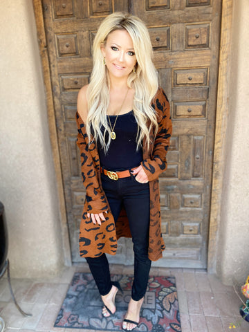 First Choice Leopard Cardi