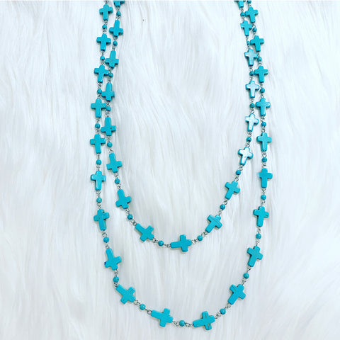 Crucita Layering Necklace