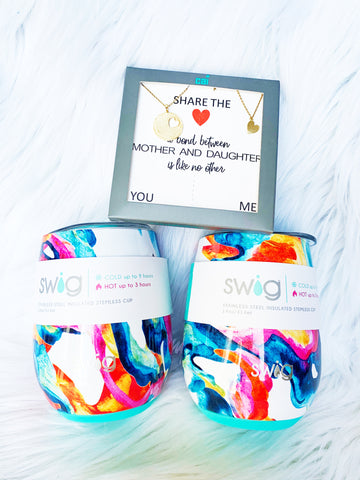 Mother Daughter Gift Set