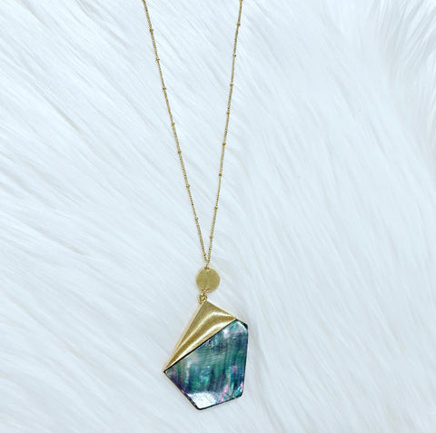 Avery Abalone Necklace