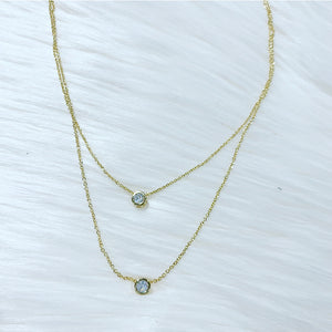 Double Take Crystal Necklace
