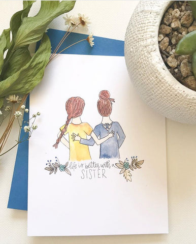 Life is Better with a Sister Card