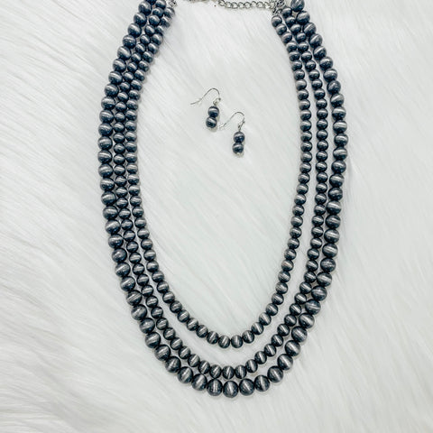 Silver Bullet Short Necklace