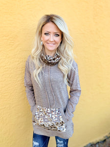 Luxe  Leopard Pullover