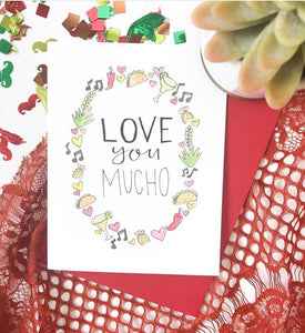 Love You Mucho Card