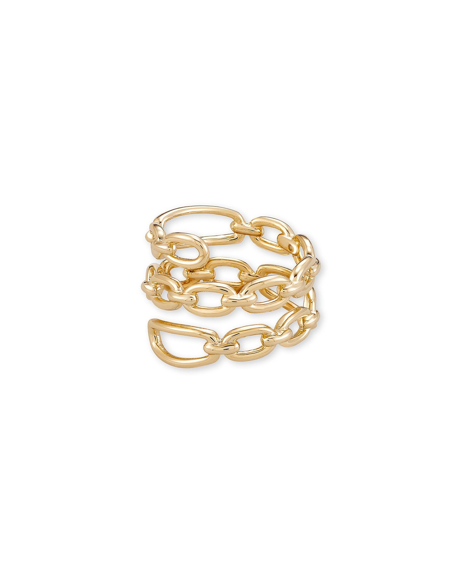 Ryder Wrap Ring in Gold