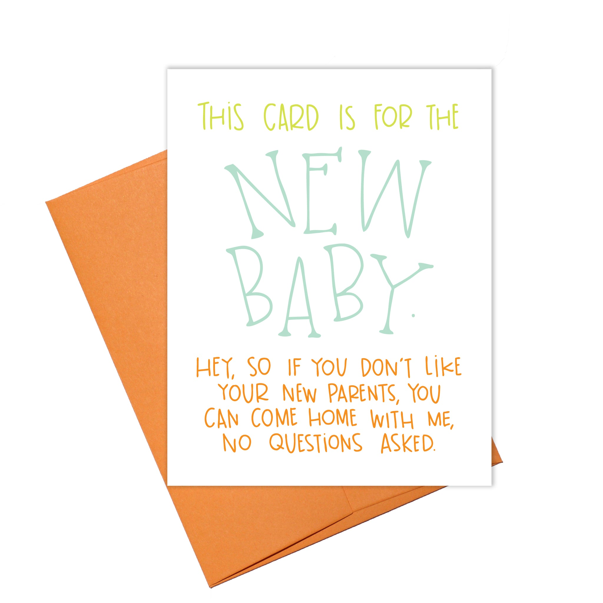 Colette Paperie - New Baby Card