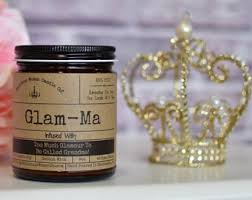 "Glam-Ma - Infused With ""Too Much Glamor To Be Called Grandma"" Scent: Rebel Rose"