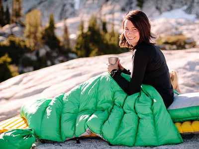 Top 5 Reasons to Choose a Down Sleeping Bag or Quilt