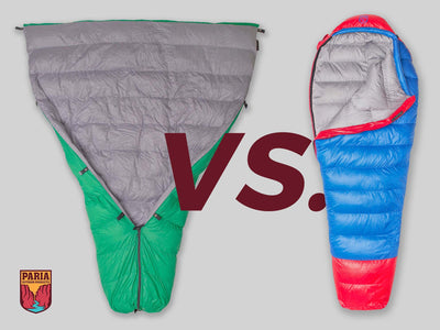 Top 4 Reasons to try a Backpacking Quilt