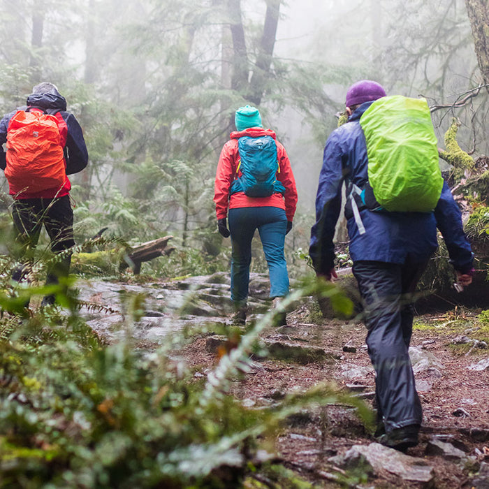 Gear for Hiking in the Rain