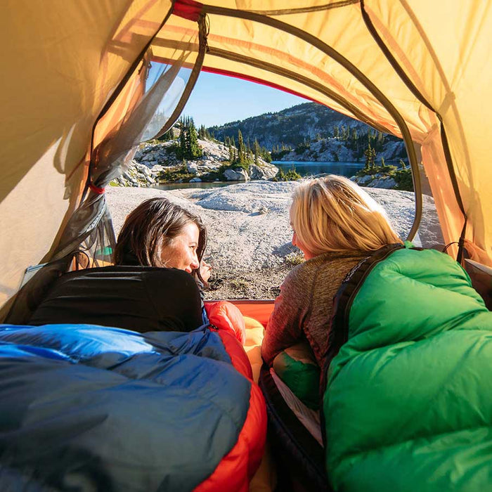 Thermodown Down-Filled Sleeping Bags by Paria Outdoor Products