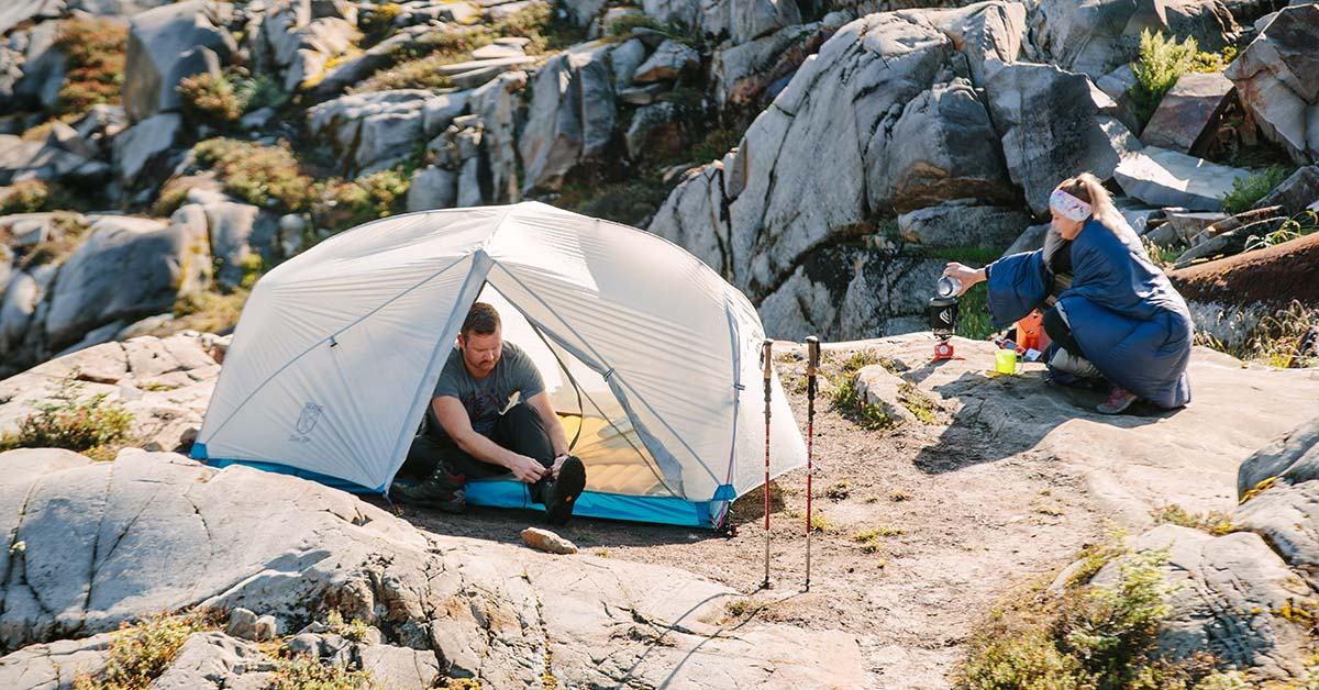 Finally a true two-person tent designed to actually fit two! Our Zion 2P backpacking tent provides all the room and comfort needed for you and a tent mate. & Zion 2P Two Person Backpacking Tent u2013 Paria Outdoor Products