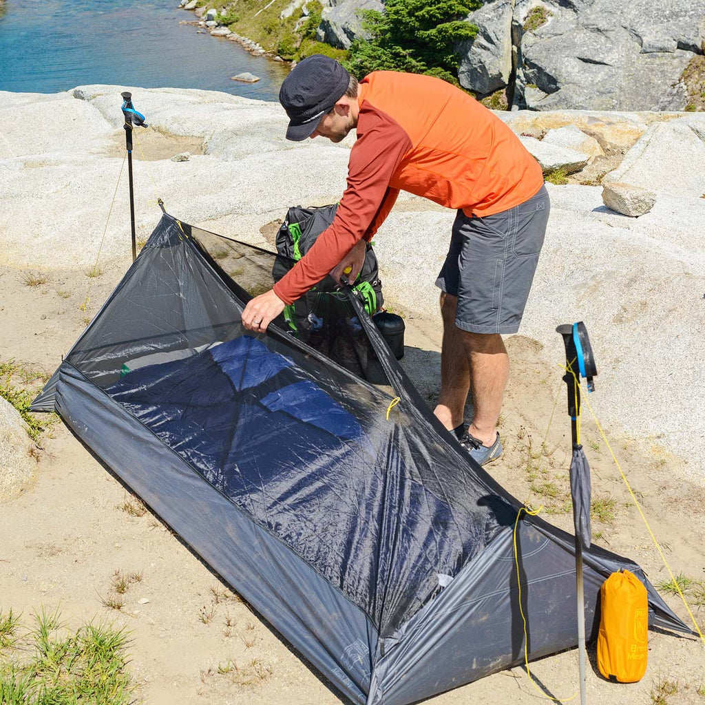 breeze mesh bivy ultralight backpacking shelter paria outdoor