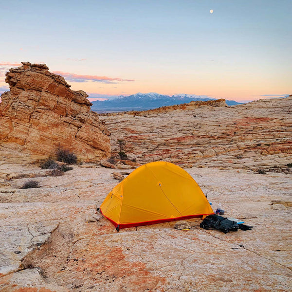 Paria Outdoor Products Bryce 1P and 2P Backpacking Tents - Lightweight, High-Quality, and Affordable