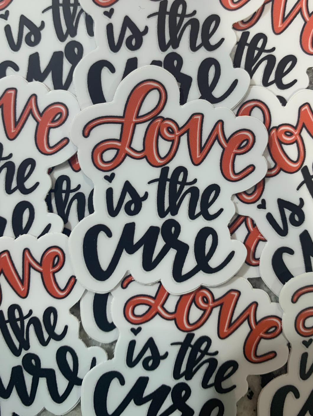 Love is the Cure Sticker