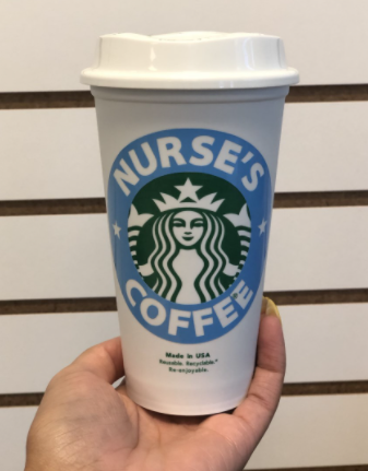 Nurse's Coffee Starbucks Hot Cup