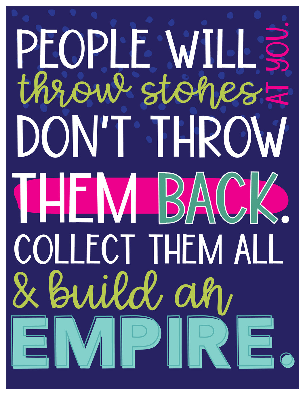 Build an Empire Poster-DIGITAL DOWNLOAD