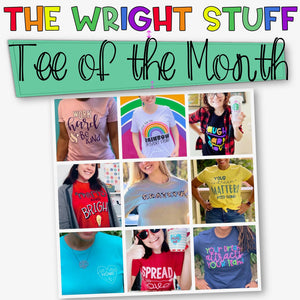 The Tee of the Month-Monthly T-Shirt Subscription~ Recurring Charge