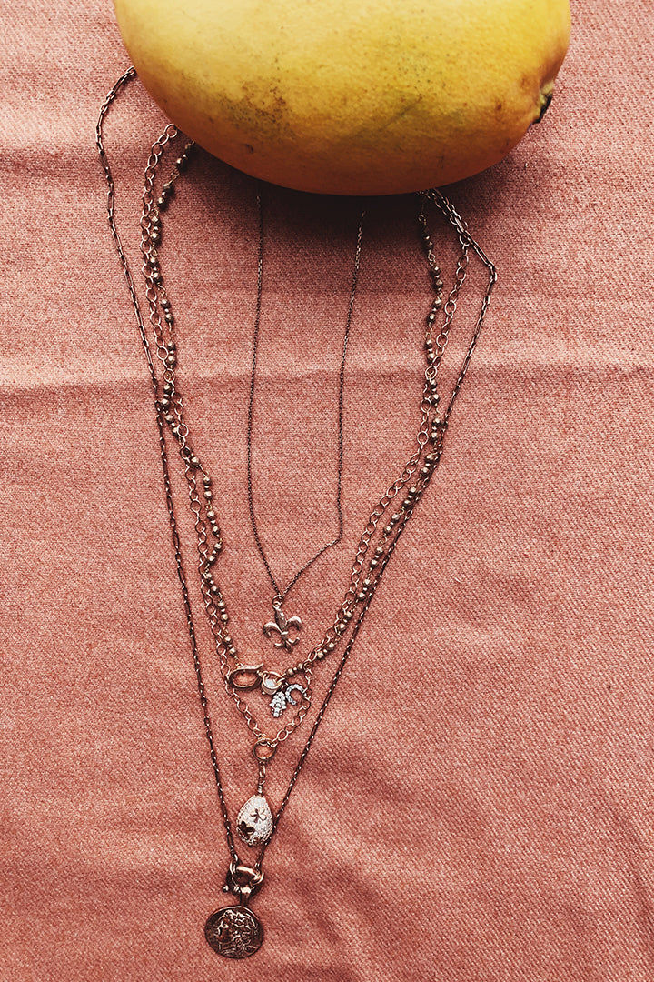 Eliza Multiple Charm Necklace