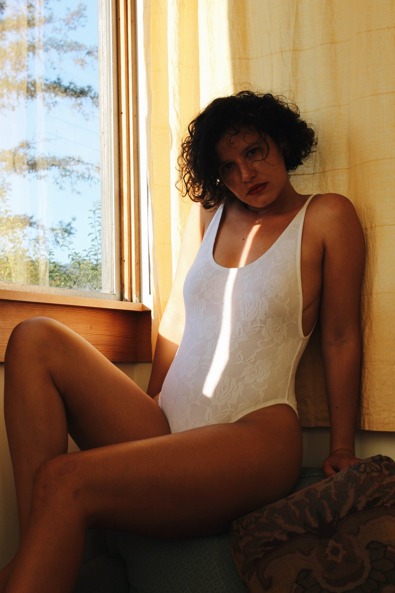 Loire Swimsuit White Sea Lace