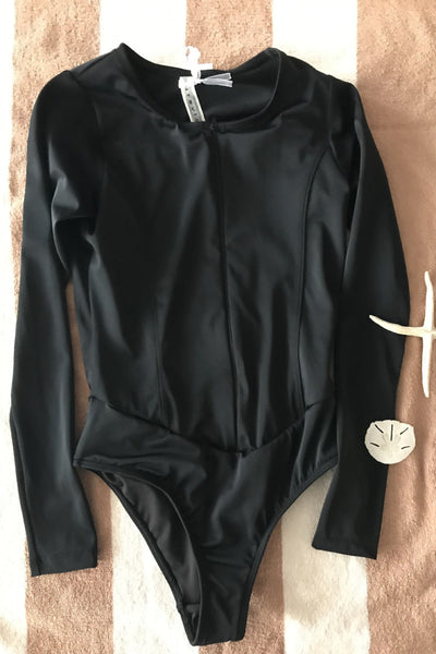 Vaquero Surf Swimsuit Black