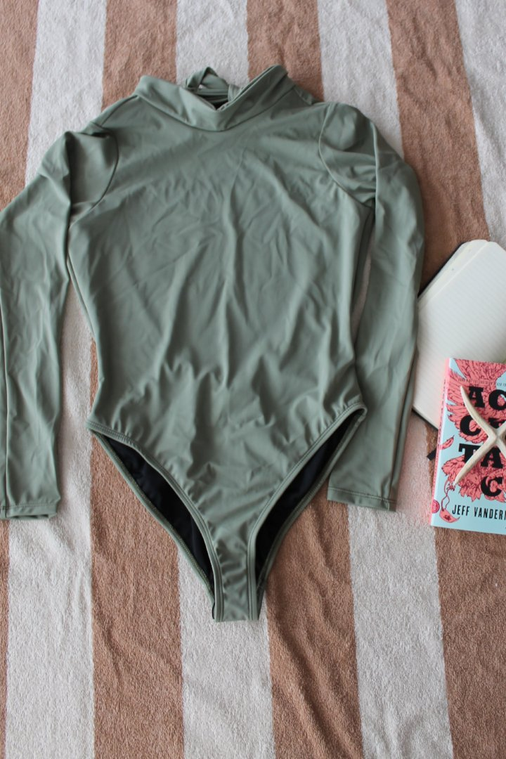 Carey Swimsuit Olive Green