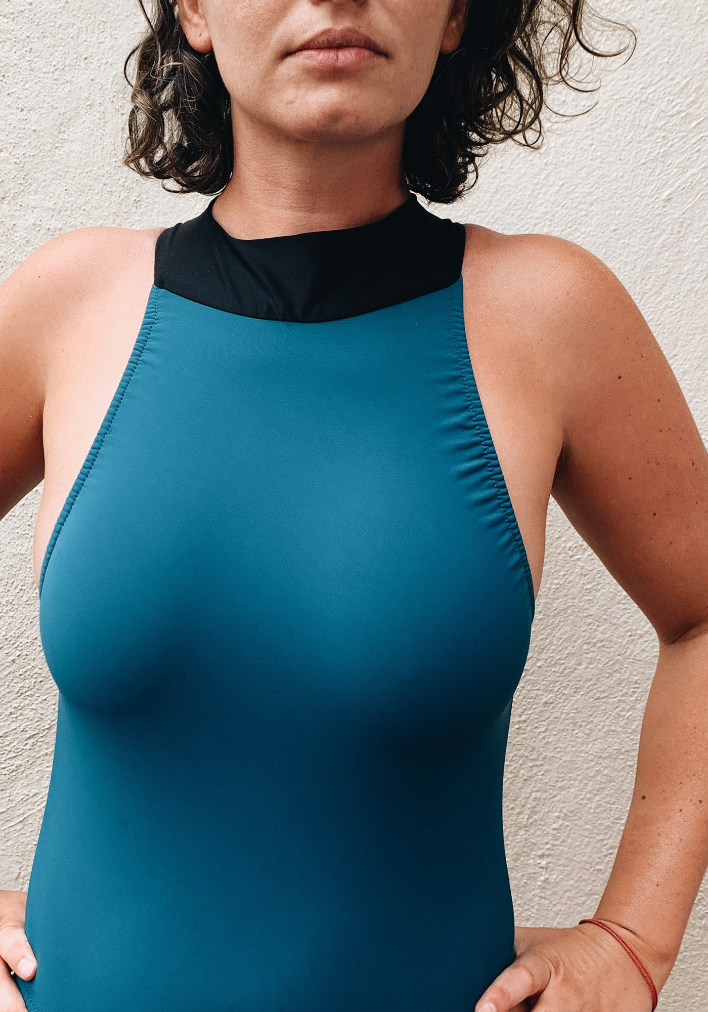 Goose Swimsuit Steel Blue