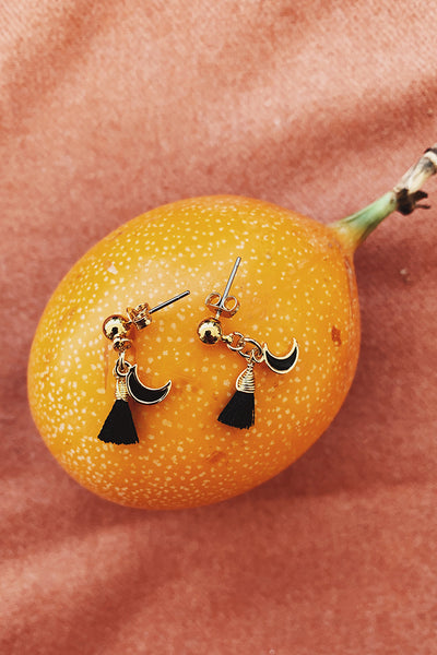 Gianna Moon Earrings