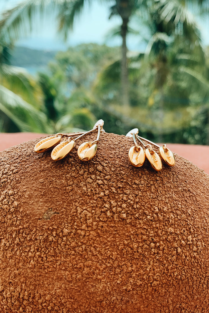 Gianna 3 Caracol Earrings