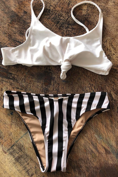 Balandra Swimsuit Black Lines